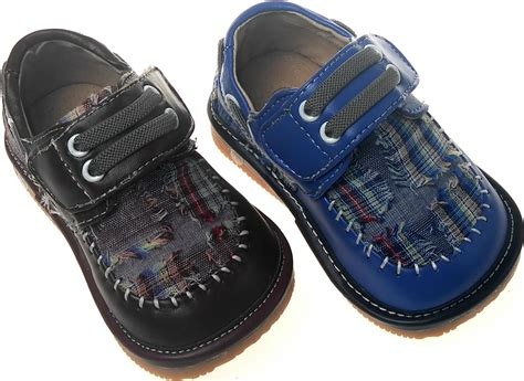 toddler squeaky shoes boy squeaky shoes blue sq766dr toddler size 1 7