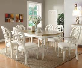 White Dining Room Furniture Sets Marvelous Dining Set White 5 White Dining Room Furniture Sets Bloggerluv