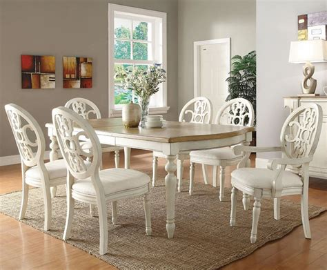 white esszimmer sets white dinette sets white dining set traditional