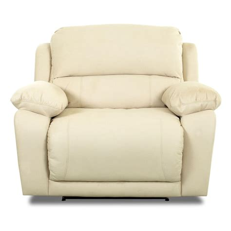 recliner c chair oversized reclining chair by klaussner wolf and gardiner