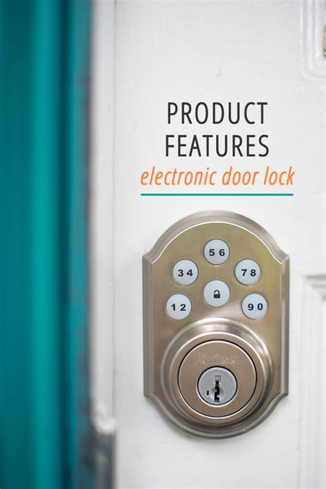 97 electronic home door lock diy battery smart home