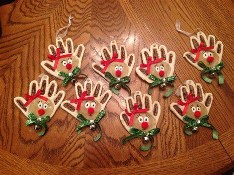 reindeer salt dough ornaments sydnees crafts
