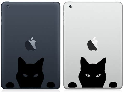 Sticker Decal Apple Mini Air Cat On Branch Rina Shop 50 awesome mini decals stickers pixelpush design