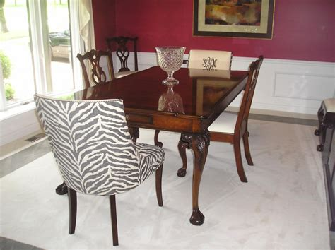 animal print dining room chairs moved permanently