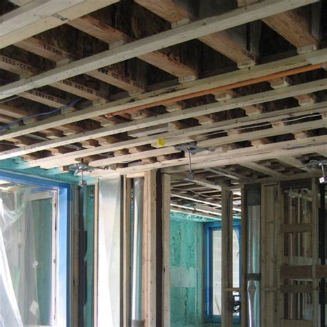 Furred Ceiling Cypress Framing 171 Home Building In Vancouver