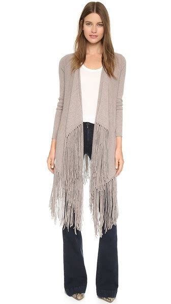 Wst 7390 Fringed Cardigan Black trendy boho fringe cardigans you ll for fall and