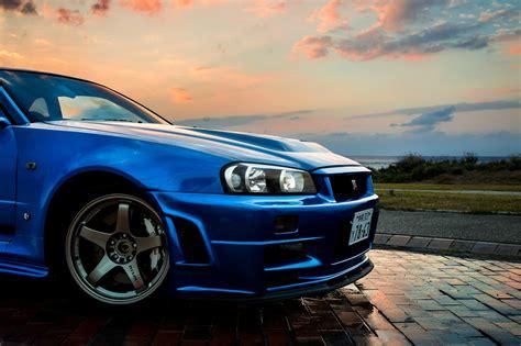 nissan nissan skyline gt   car blue jdm wallpapers