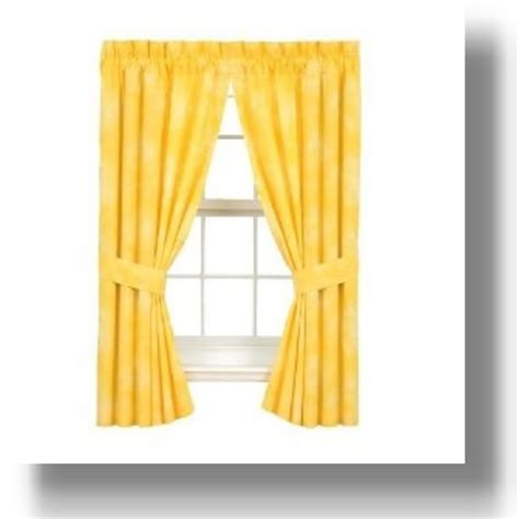 pale yellow curtains and drapes yellow kitchen accessories buungi com