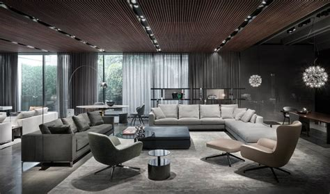 led lesele wohnzimmer milan furniture design news introducing new minotti 2015