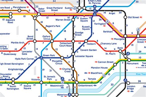 map of underground stations s walk the map reveals the real distance