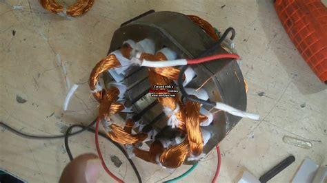 open winding electric motor how to make table fan open and rewinding fan rewinding