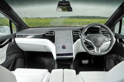 suv tesla inside tesla model x suv 2016 driving performance parkers