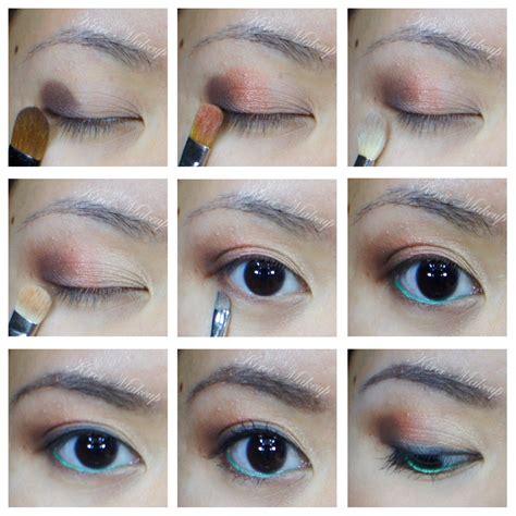 Eyeshadow Sariayu a hint of emerald kirei makeup