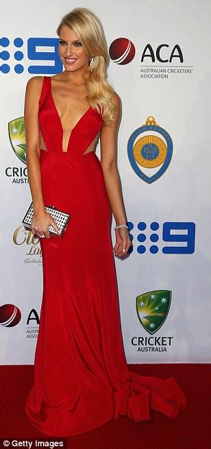 Kyly clarke leads the wag style stakes at allan border medal daily