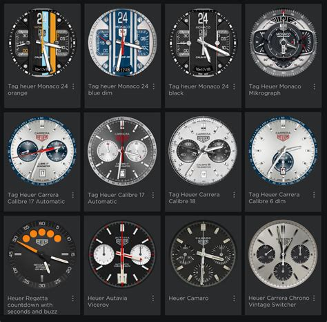 TAG Heuer Connected: Custom Watchfaces   Calibre 11 TAG Heuer Forums