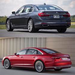 Bmw A8 Photo Comparison 2018 Audi A8 Vs Bmw 7 Series