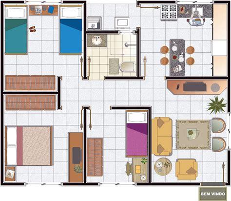 fazer plantas de casas 11 modelos de plantas de casas pequenas para construir
