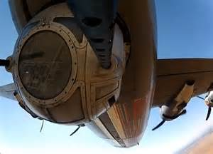 ... of view from the retractable ball turret of a WWII B-24 heavy bomber B 24 Ball Turret