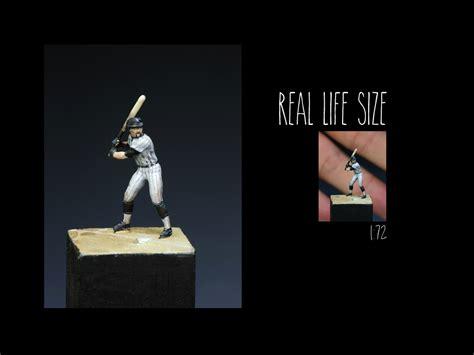 Preiser 29008 Baseball Player Miniature Figure go white sox go planetfigure miniatures