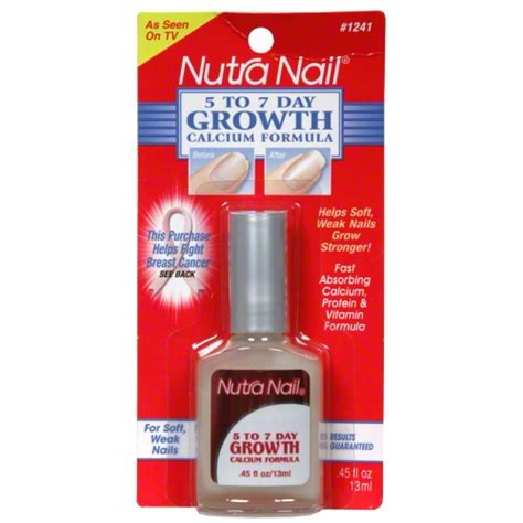 45 Day Formula 018515012418 upc nutra nail customized nail care for