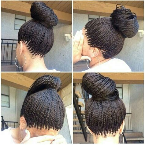 senegalese twists fishtail braid protective styles micro small senegalese twist braids pinterest hair style