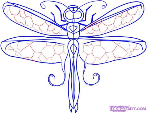 colorful dragonfly nymph labium dragon tattoos for men arm