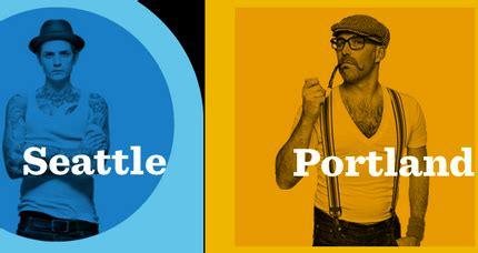 portland hipster seattle vs portland which city is more hip geekwire