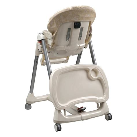 Perego High Chair by Storage Clean Up Large Tray Easy To Use