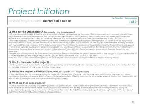 project initiation template pmp project initiation template for professionals
