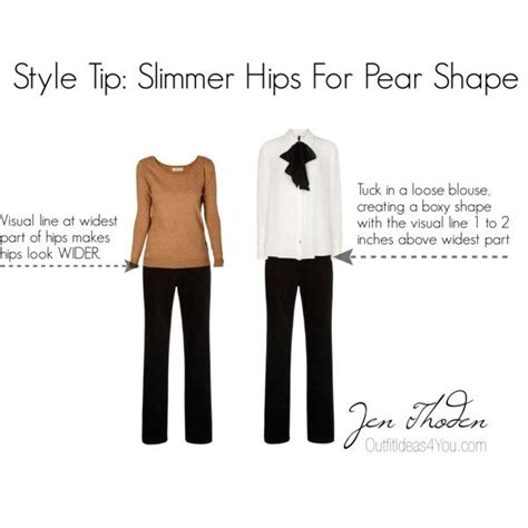 styles for pear shaped bodies quot style tip slimmer hips for a pear shaped body quot by jen