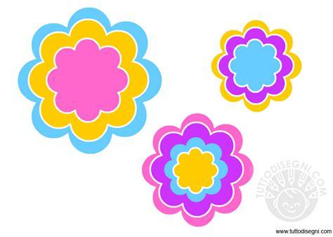 disegno fiore stilizzato fiori stilizzati da ritagliare tuttodisegni