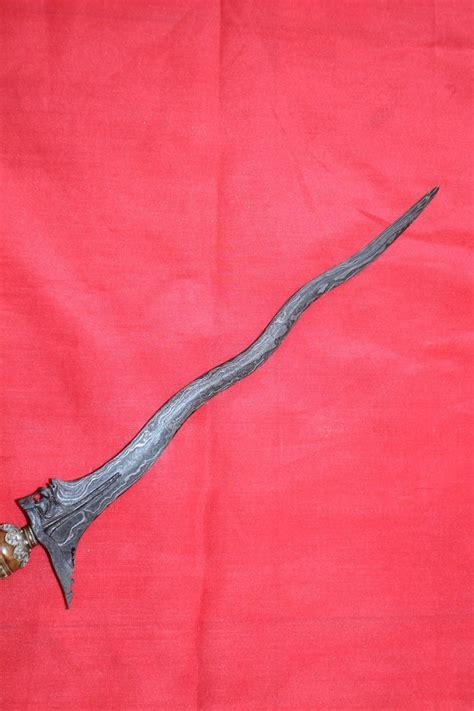 Batu Akik Pamor Panah dewi kencono wungu keris singo barong