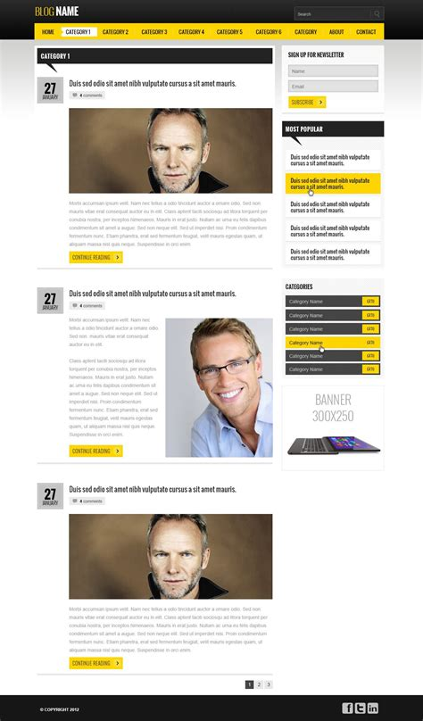 templates for blog website free download free blog website template blog templates phpjabbers