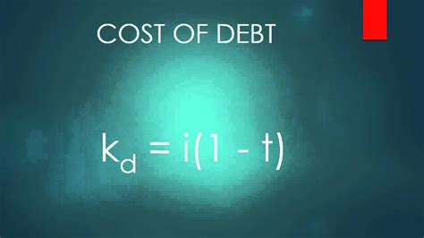 Is Mba Worth The Debt by Cost Of Debt