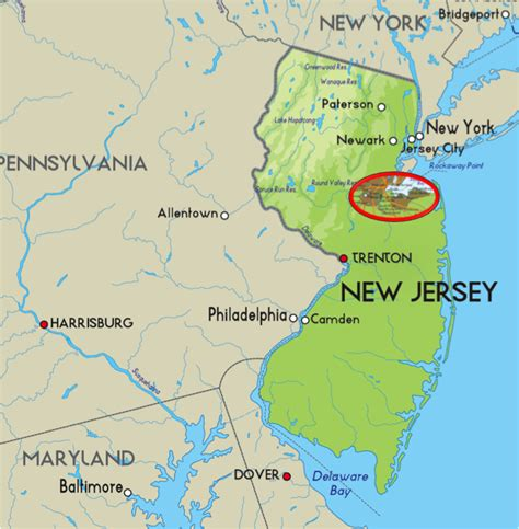 New Jersey Easit Mba by Rutgers College Cus Map Html Rutgers Usa States Map