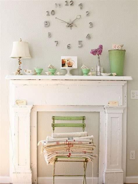 Plastic Fireplace Mantel by A Grown Up Take On Decorating With Pastels