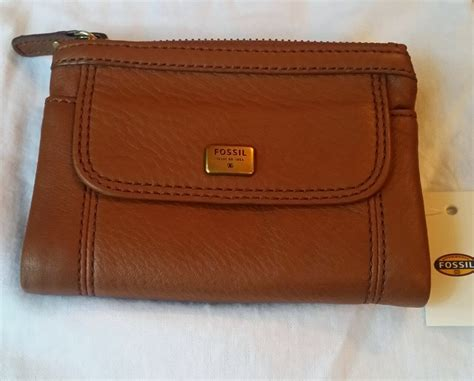 Ready Fossil Dawson Multifunction Wallet Original kadie s ready stock fossil leather wallet