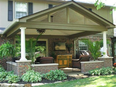Porch Addition Ideas covered patio roof addition in in gettum associates inc