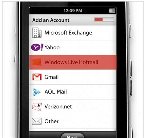 verizon net email on android verizon intros mobile email 4 0