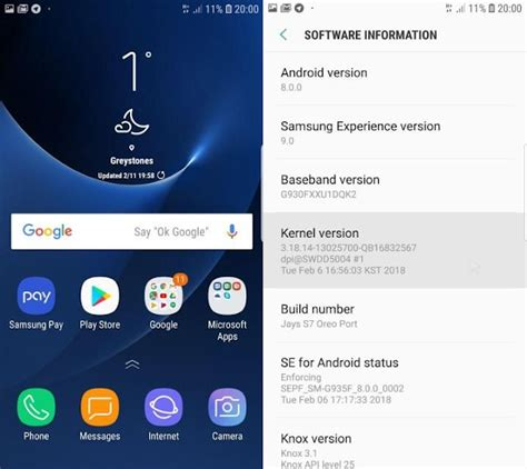 Android Oreo S7 by Samsung Experience 9 0 Based On Official Android 8 0 Oreo