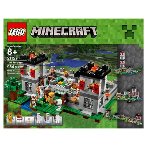 Clearance Patio Doors Lego 174 Minecraft The Fortress 21127 Target
