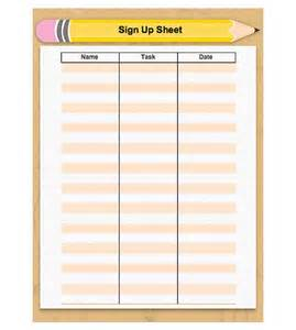 Back To School Sign In Sheet Template by 17 Best Images About Sign Ups On Parent
