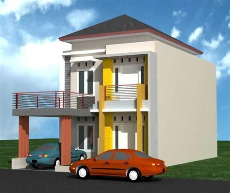 desain depan rumah 2 lantai desain rumah minimalis modern 2 lantai tak depan with