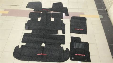 Karpet New jual karpet dasar bludru all new avanza grand new avanza