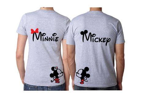 Matching Baseball Shirts For Couples Mickey Minnie Disney Matching Shirts