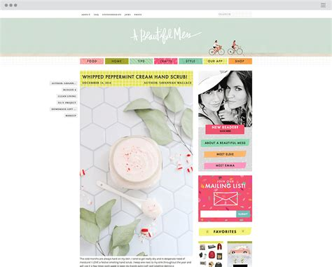 10 blog layout tips a beautiful mess 14 design blogs every creative should bookmark
