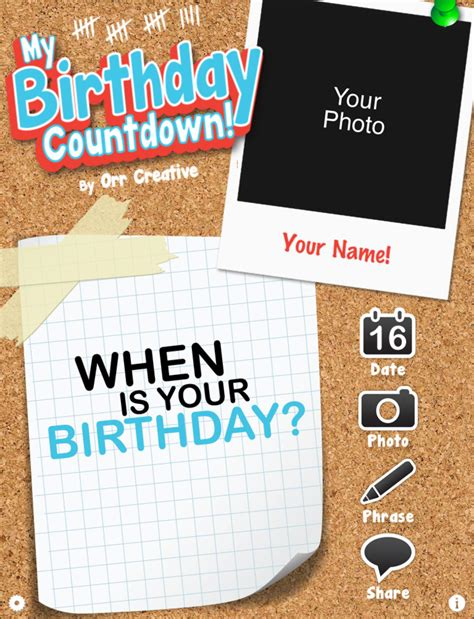 Countdown To My Birthday Quotes Birthday Countdown Quotes Quotesgram