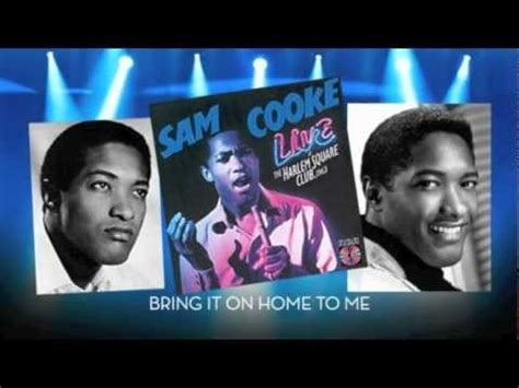 sam cooke live quot bring it on home to me quot 1963 my