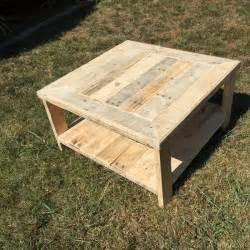 Reclaimed Wood Round Table Pallet Wood Square Coffee Table Pallet Furniture Diy