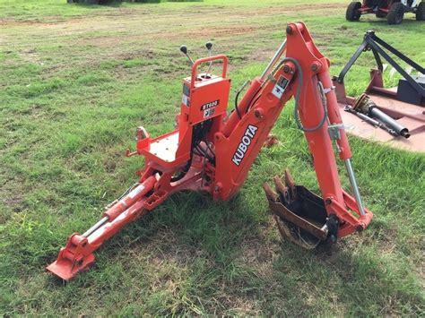 L Attachment kubota bt600 backhoe attachment for bx tractor